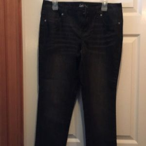 L.e.i Ashley lowise skinny jeans/never worn